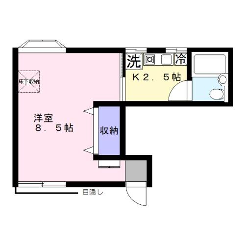 女性限定・家電付・入居者さまに優しいお部屋~ハイツ橘102~