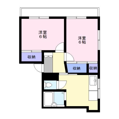 東横線・妙蓮寺駅徒歩2分<分譲マンション2K>~妙蓮寺マンション205~